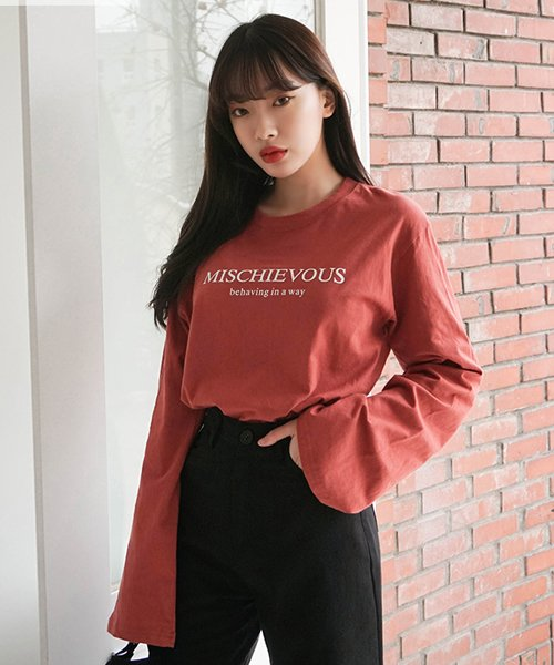 sonyunara(ソニョナラ)/SONYUNARA(ソニョナラ)mischievousTシャツ/son-19t-010-z_img11