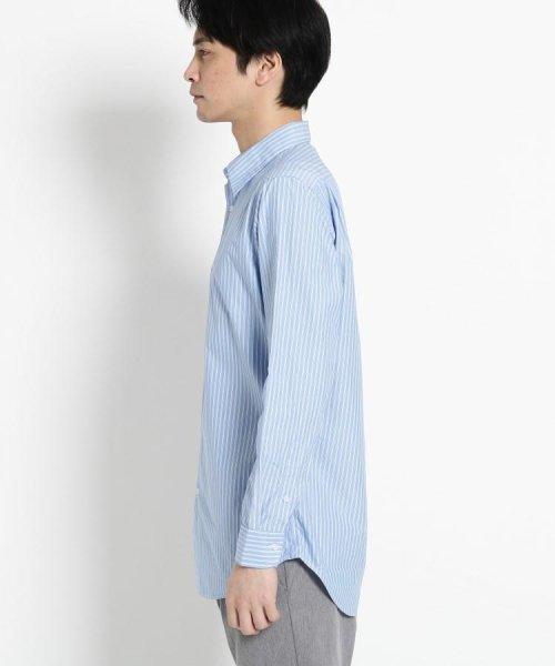 OPAQUE.CLIP(オペークドットクリップ)/【洗える】ストライプ レギュラーカラーシャツ/201901F3686001_img02