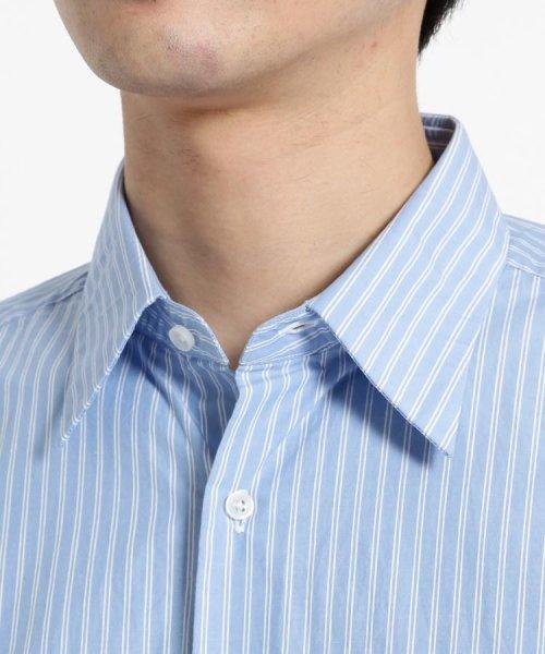 OPAQUE.CLIP(オペークドットクリップ)/【洗える】ストライプ レギュラーカラーシャツ/201901F3686001_img04