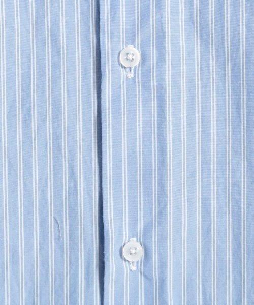 OPAQUE.CLIP(オペークドットクリップ)/【洗える】ストライプ レギュラーカラーシャツ/201901F3686001_img06