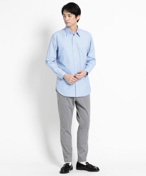 OPAQUE.CLIP(オペークドットクリップ)/【洗える】ストライプ レギュラーカラーシャツ/201901F3686001_img07