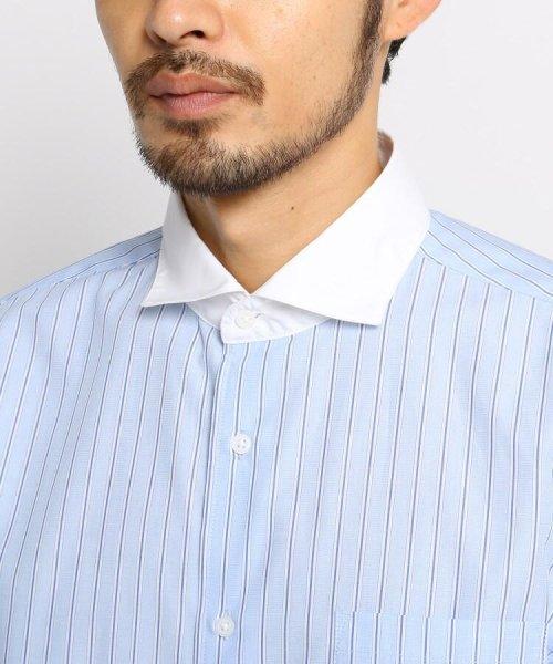 OPAQUE.CLIP(オペークドットクリップ)/【洗濯機洗いOK】ストライプ クレリックシャツ/201901F3686003_img04