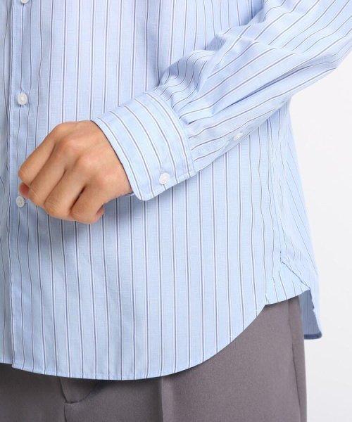 OPAQUE.CLIP(オペークドットクリップ)/【洗濯機洗いOK】ストライプ クレリックシャツ/201901F3686003_img05