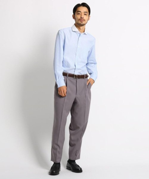OPAQUE.CLIP(オペークドットクリップ)/【洗濯機洗いOK】ストライプ クレリックシャツ/201901F3686003_img07