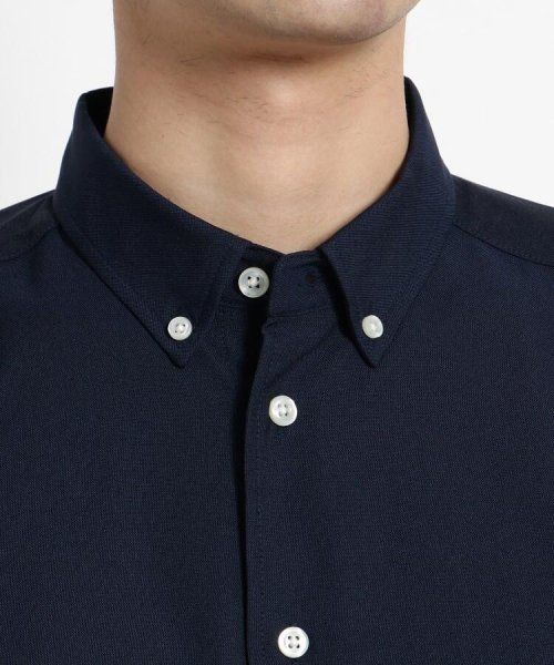 OPAQUE.CLIP(オペークドットクリップ)/【洗濯機洗いOK】ミニボタンダウンシャツ/201901F3686005_img04