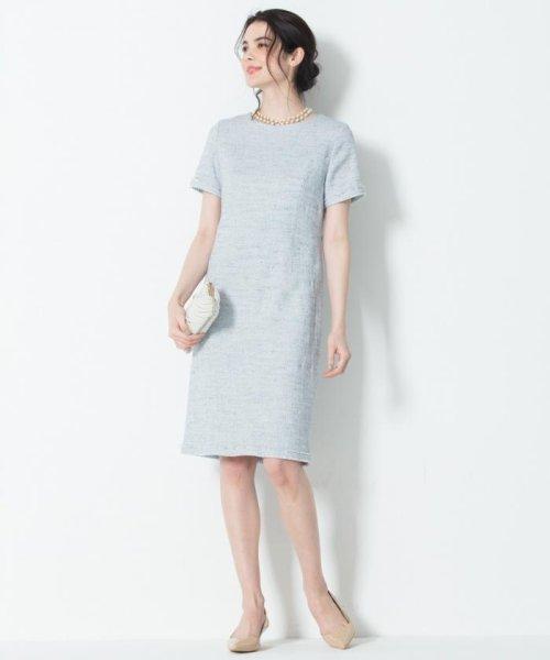 NIJYUSANKU(LARGE SIZE)(23区(大きいサイズ))/【マガジン掲載】Brilliant tweed dress ワンピース/OPWWKM0741_img01