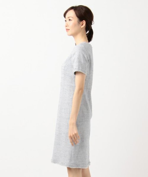 NIJYUSANKU(LARGE SIZE)(23区(大きいサイズ))/【マガジン掲載】Brilliant tweed dress ワンピース/OPWWKM0741_img03