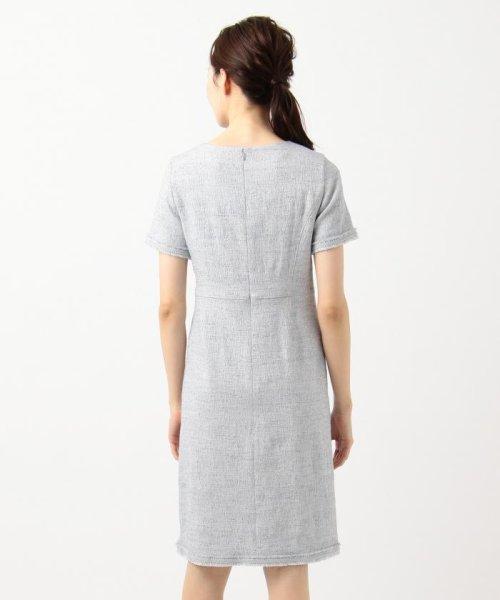 NIJYUSANKU(LARGE SIZE)(23区(大きいサイズ))/【マガジン掲載】Brilliant tweed dress ワンピース/OPWWKM0741_img04