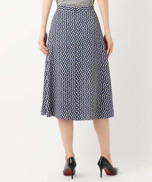 JIYU-KU (自由区)/【Class Lounge】OPTICAL PRINT スカート/SKWCKM0335_img02