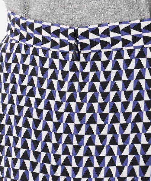 JIYU-KU (自由区)/【Class Lounge】OPTICAL PRINT スカート/SKWCKM0335_img05
