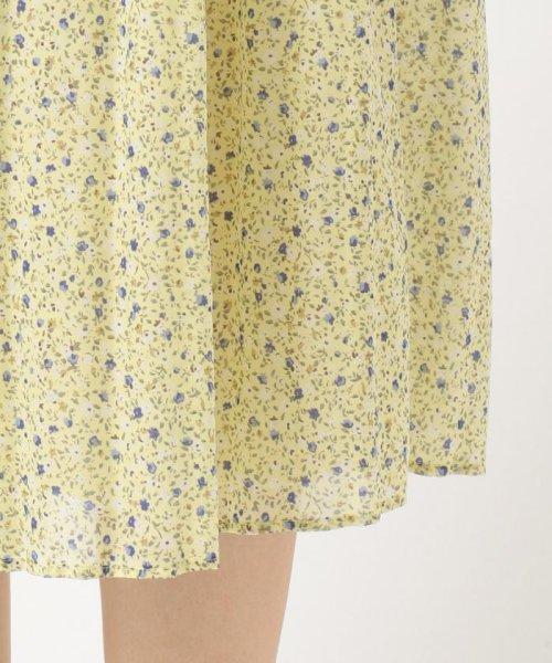 anySiS(エニィ スィス)/【洗える】プチフラワースパンローン スカート/SKWPKM0421_img13