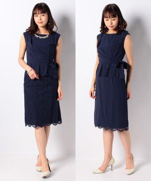 Eimy Peral(エイミーパール(ドレス))/トップス+スカートセットアップドレス/BO319_img17
