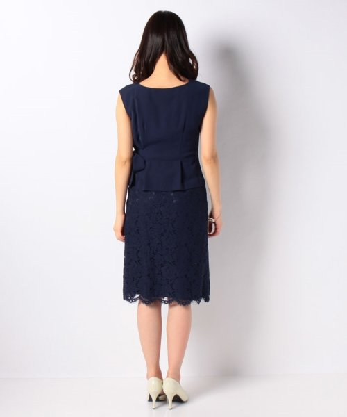 Eimy Peral(エイミーパール(ドレス))/トップス+スカートセットアップドレス/BO319_img19