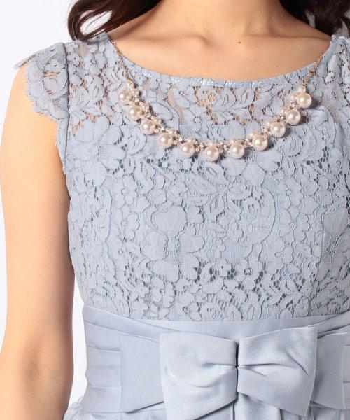 Eimy Peral(エイミーパール(ドレス))/パールネックレス付きドレス/24449_img16