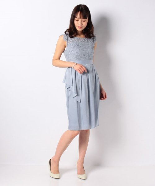 Eimy Peral(エイミーパール(ドレス))/パールネックレス付きドレス/24449_img18