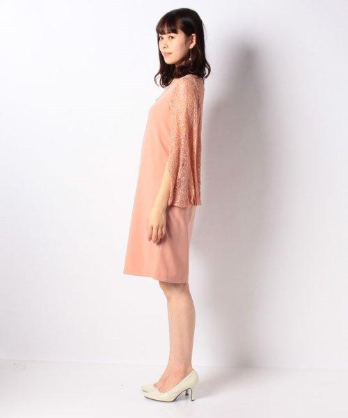 Eimy Peral(エイミーパール(ドレス))/肩かけ風レースドレス/4747_img09