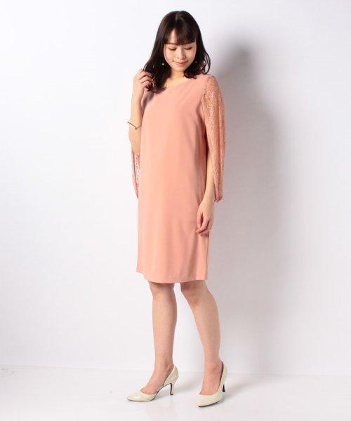 Eimy Peral(エイミーパール(ドレス))/肩かけ風レースドレス/4747_img12