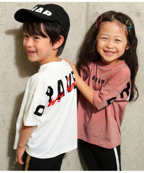 ANAP KIDS(アナップキッズ)/BACKプリントTシャツ/0437800036_img03