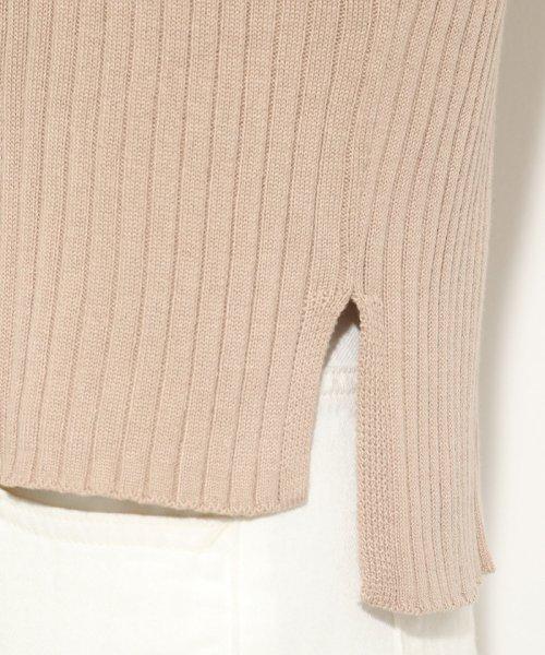 ViS(ビス)/ワイドリブ切替フレンチ袖プルオーバー/BVM19660_img05