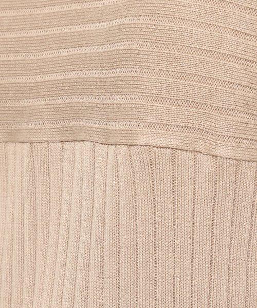 ViS(ビス)/ワイドリブ切替フレンチ袖プルオーバー/BVM19660_img06