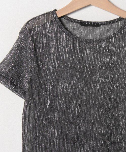 SISLEY YOUNG(シスレーヤング)/シルバーラメ半袖Tシャツ・カットソー/19P3Y8HC144R_img02