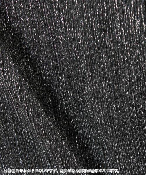 SISLEY YOUNG(シスレーヤング)/シルバーラメ半袖Tシャツ・カットソー/19P3Y8HC144R_img03