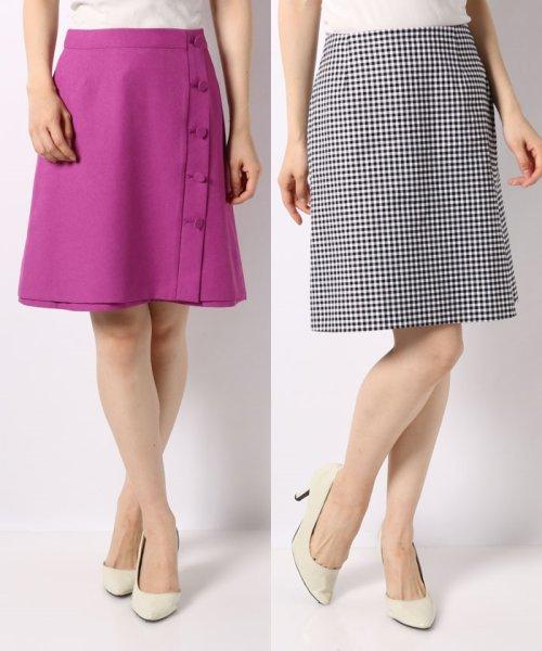 Noela(ノエラ)/【Ray6月号掲載】リバーシブル台形スカート/5932011_img11