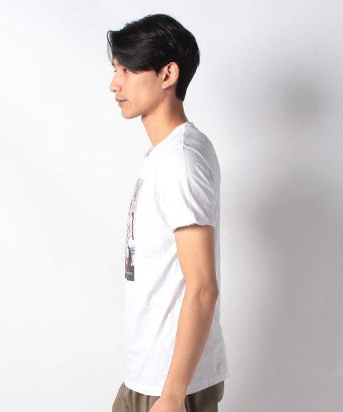 SISLEY(シスレー(メンズ))/スラブグラフィックプリント半袖Tシャツ・カットソー/19P3APUO12EI_img12