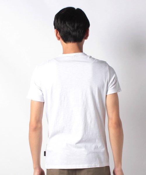 SISLEY(シスレー(メンズ))/スラブグラフィックプリント半袖Tシャツ・カットソー/19P3APUO12EI_img13