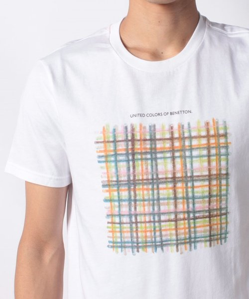 BENETTON (mens)(ベネトン(メンズ))/グラフィック半袖Tシャツ・カットソー/19P3U53J13C2_img08