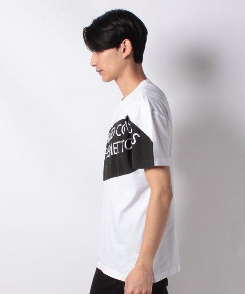BENETTON (mens)(ベネトン(メンズ))/ヘリテージロゴ半袖Tシャツ・カットソー/19P3U53J13D2_img13