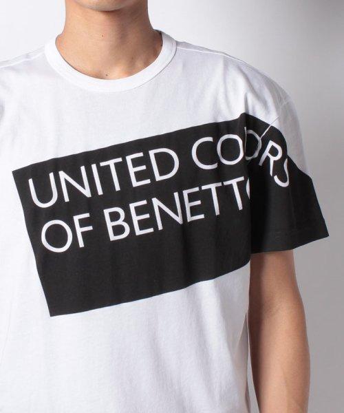 BENETTON (mens)(ベネトン(メンズ))/ヘリテージロゴ半袖Tシャツ・カットソー/19P3U53J13D2_img15