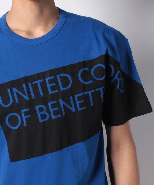 BENETTON (mens)(ベネトン(メンズ))/ヘリテージロゴ半袖Tシャツ・カットソー/19P3U53J13D2_img29