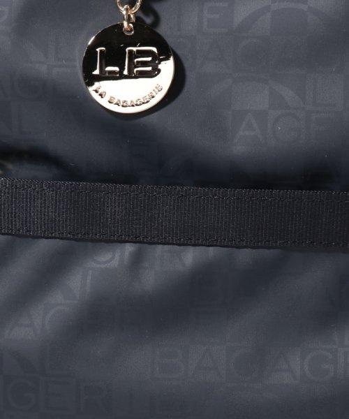 LA BAGAGERIE(ラ バガジェリー)/モノグラムプリントスクエアリュックサック/B910804_img04