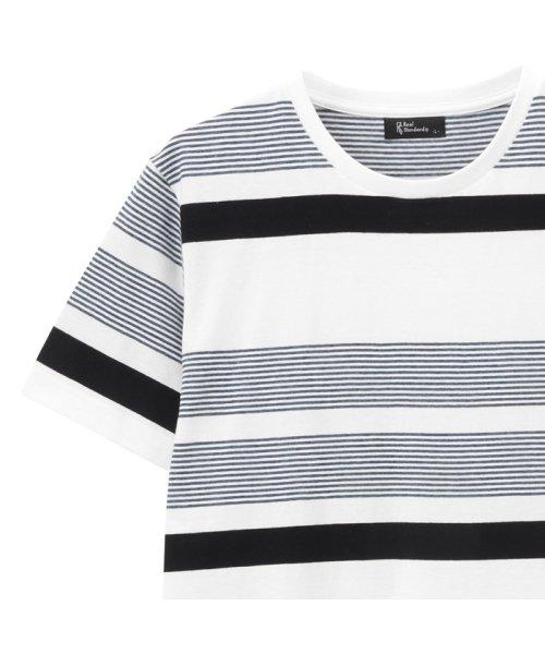 MAC HOUSE(men)(マックハウス(メンズ))/Real Standard マルチボーダーTシャツ 92-7206P-KJ/01222006539_img01