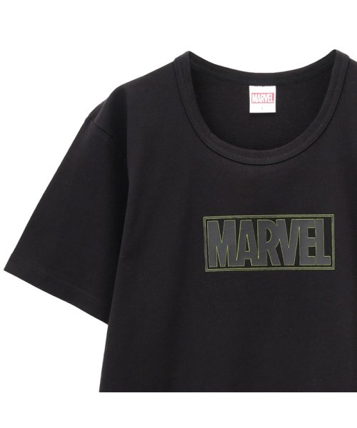 MAC HOUSE(men)(マックハウス(メンズ))/LOVE-T MARVEL ボックスロゴTシャツ 932040MH/01222006561_img01