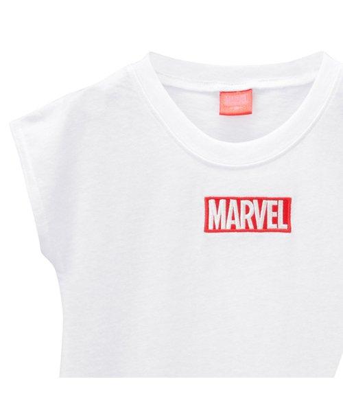 MAC HOUSE(kid's)(マックハウス(キッズ))/LOVE-T MARVEL 刺繍Tシャツ 326112016/03222002235_img01