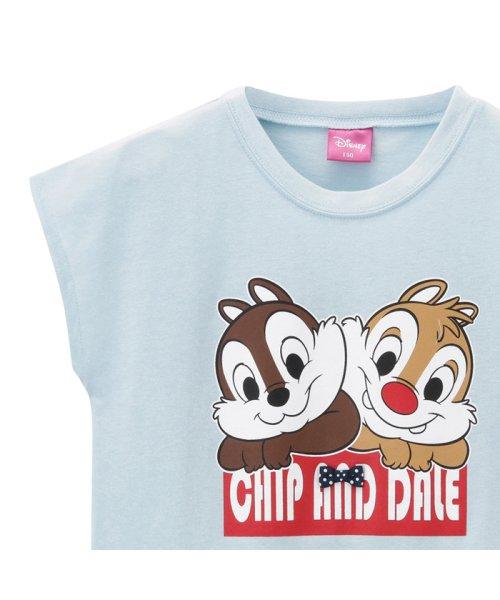 MAC HOUSE(kid's)(マックハウス(キッズ))/LOVE-T ガールズ チップとデール Tシャツ 326102013/03222002263_img01