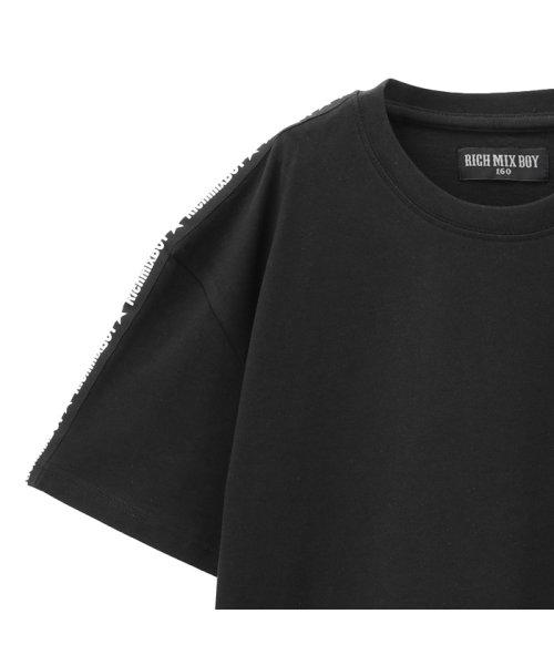 MAC HOUSE(kid's)(マックハウス(キッズ))/RICH MIX ボーイズ ポケット付きTシャツ 362573021/03223000221_img01