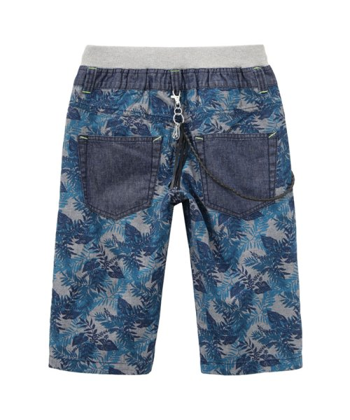 MAC HOUSE(kid's)(マックハウス(キッズ))/Navy ボーイズ チェーン付きハーフパンツ 362573035/03333900484_img03