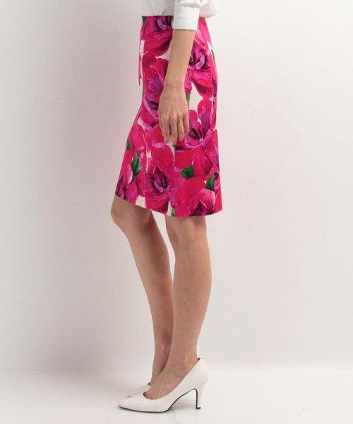 ELISA(エリザ)/【セットアップ対応商品】メガフラワープリントスカート/27110051_img02
