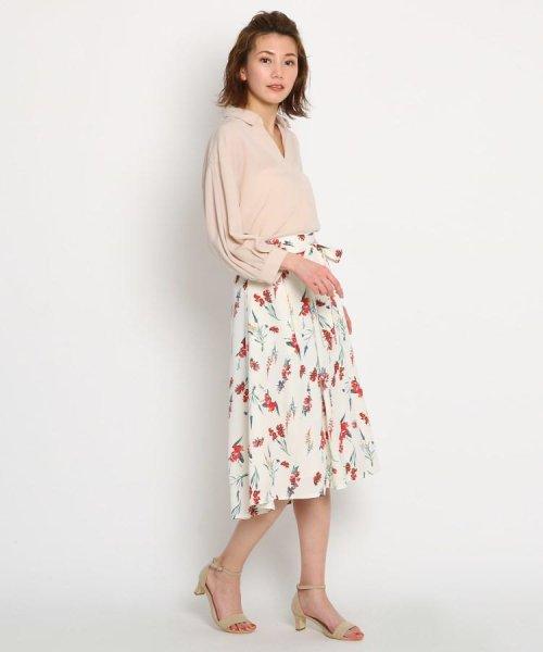 AG by aquagirl(AG バイ アクアガール)/【洗える】リボンベルト付き花柄スカート/201901C1276034_img08