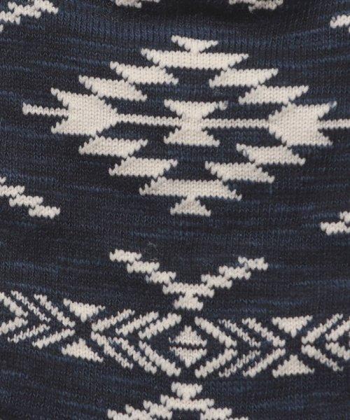 JNSJNM(ジーンズメイト メンズ)/【BLUE STANDARD】1Pオルテガアンクルソックス/214297042_img01