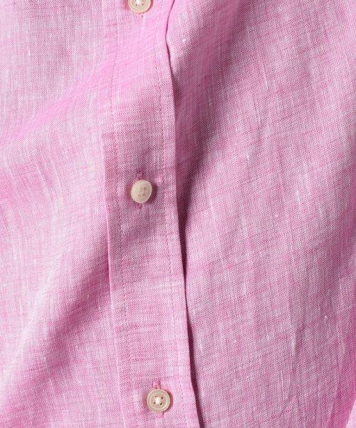BENETTON (mens)(ベネトン(メンズ))/半袖レギュラーカラーリネンシャツ/19PJL5U19P04_img08