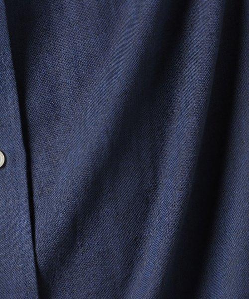BENETTON (mens)(ベネトン(メンズ))/半袖レギュラーカラーリネンシャツ/19PJL5U19P04_img12