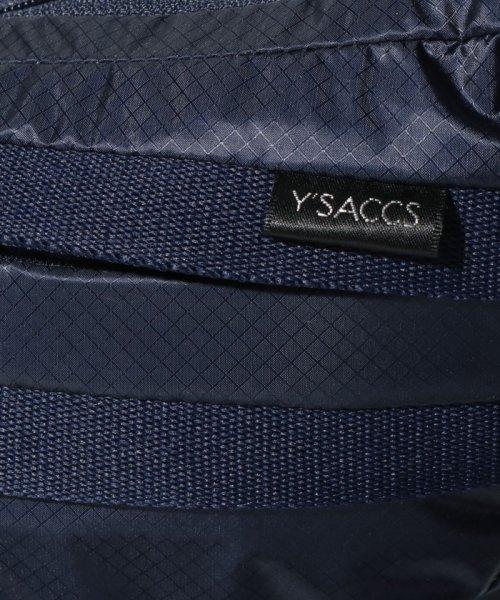 Y'SACCS(イザック)/トラベルシリーズ 三日月ショルダーバッグ/Y910403_img04