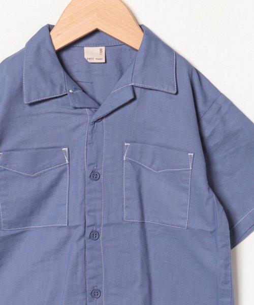 petit main(プティマイン)/オープンカラーシャツ/9591234_img02