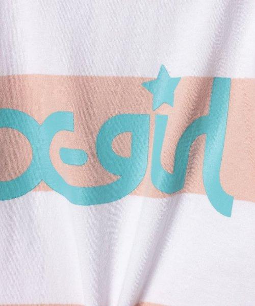 X-girl Stages(エックスガール ステージス)/ボーダーフリルTシャツ/9291225_img03
