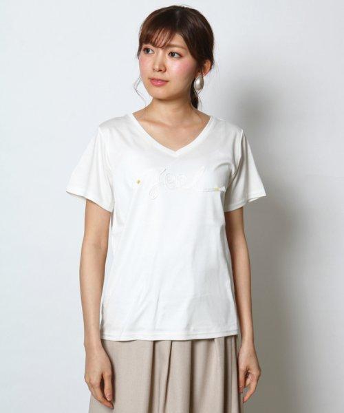 SCOTCLUB(スコットクラブ)/Vin(ウ゛ァン) テープロゴTシャツ/081253975_img02