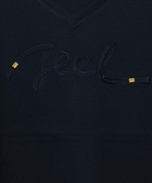 SCOTCLUB(スコットクラブ)/Vin(ウ゛ァン) テープロゴTシャツ/081253975_img10